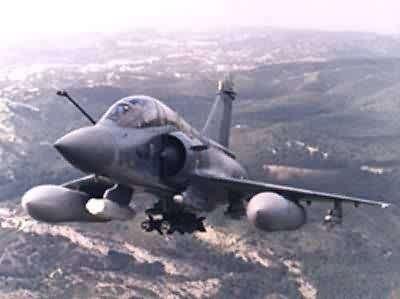 الطائرة الاوربيه الحديثه تايفون Mirage2000d1